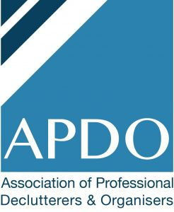 Proud to be a member of the Association of Professional Declutterers and Organisers