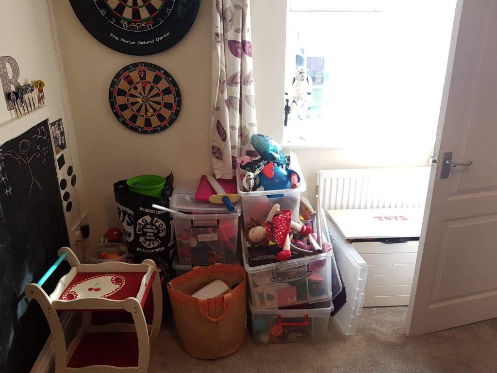 Family Playroom Reorganised Louise Simpson Coaching